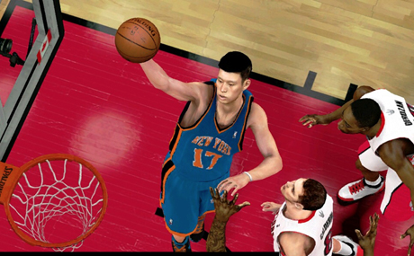 Jeremy Lin NBA2K Video Game