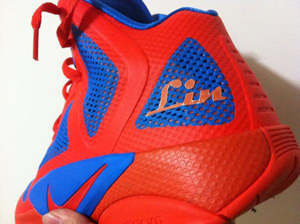 Jeremy Lin's New Shoes