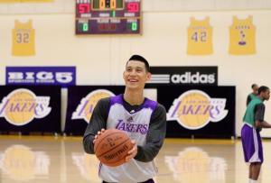 Jeremy Lin Lakers